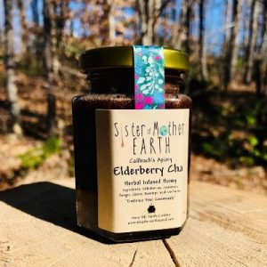 Cailleach's Apiary – Elderberry Chai – Infused Honey