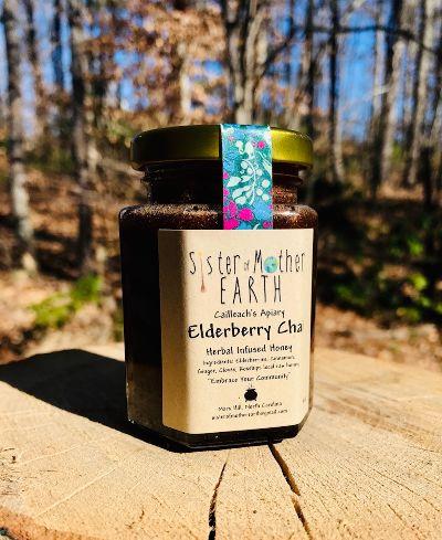 elderberry infused honey