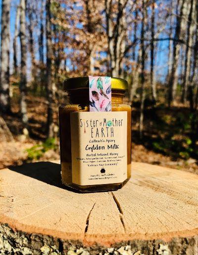 golden milk honey