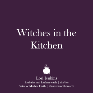 Witches in the Kitchen Class Series